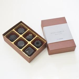 炭のチョコラ  6個入り