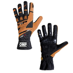 KK02743E096  KS-3 Gloves (Black/fluo orange)