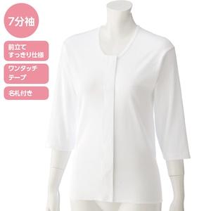 婦人・7分袖ワンタッチシャツ(2枚組)