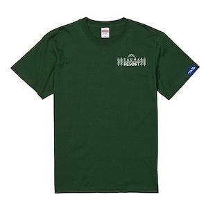 (新商品)【富士急サウナリゾート】ホテルマウント富士 オリジナルサウナTシャツ グリーン