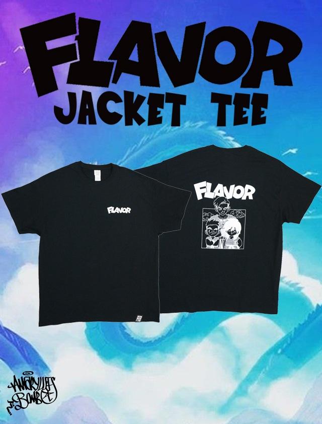 FLAVOR JACKET TEE -Black-