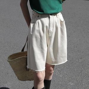 Half denim pants(ハーフデニムパンツ)b-216