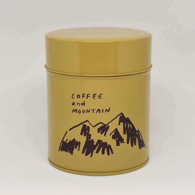 HIGASHI ALPS(ヒガシアルプス)コーヒー缶
