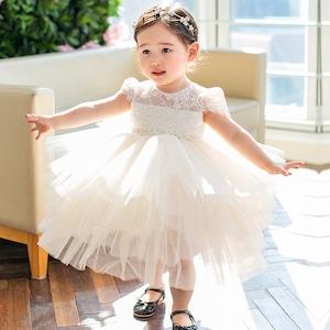 子供ドレス キッズドレス レース ベビードレス  女の子ドレス キッズフォーマルドレス ワンピース セレモニードレス 七五三 80cm-160cm 8331