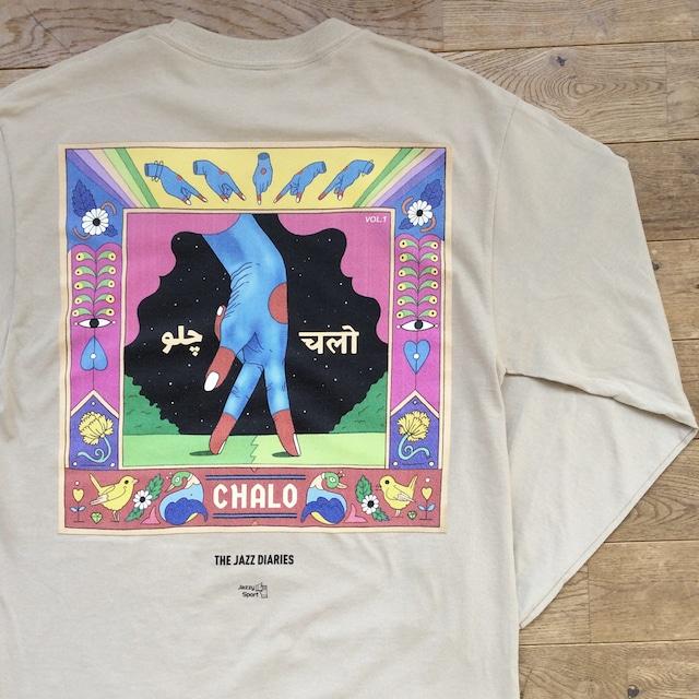 【ラスト1】2000Black × Ends and Means × Jazzy Sport Tシャツ/ブラック(Mix CD付き)