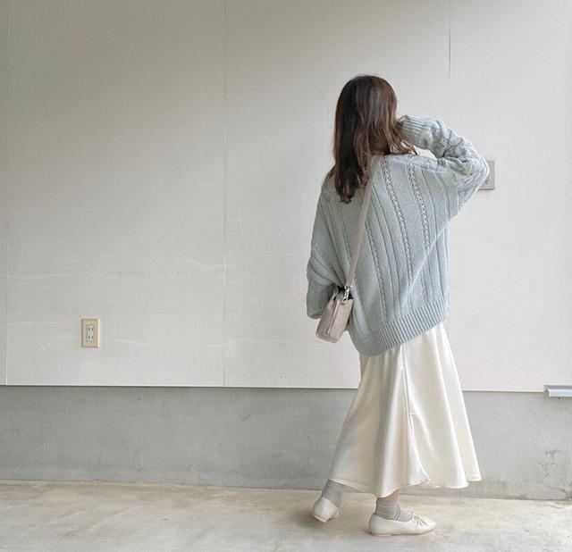 satin skirts[20F-2]