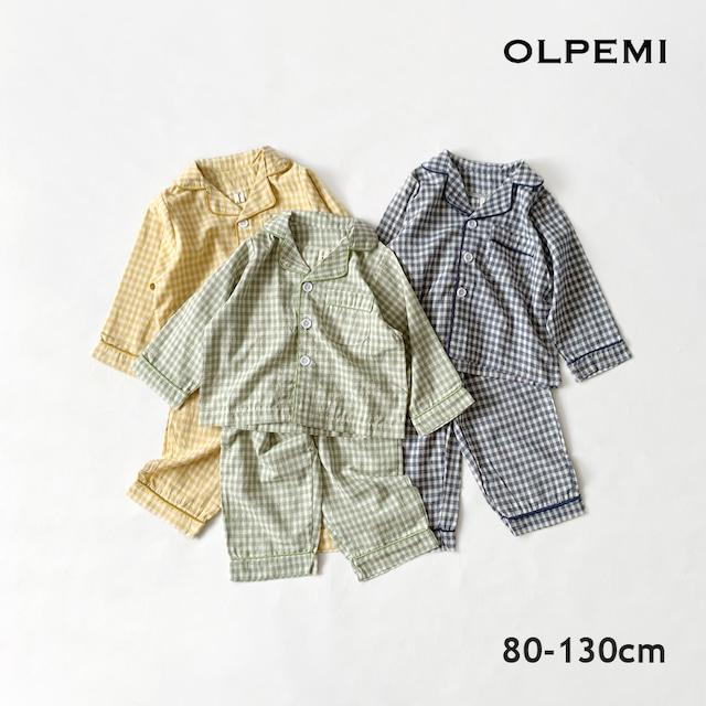 ギンガムチェックパジャマ【R025】