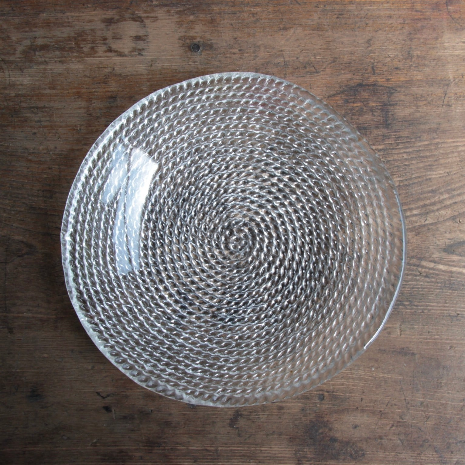 綱手ガラスのそうめん皿
