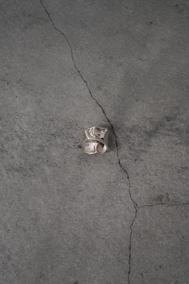 "Addiction silver 925 design ring  ""crush"""
