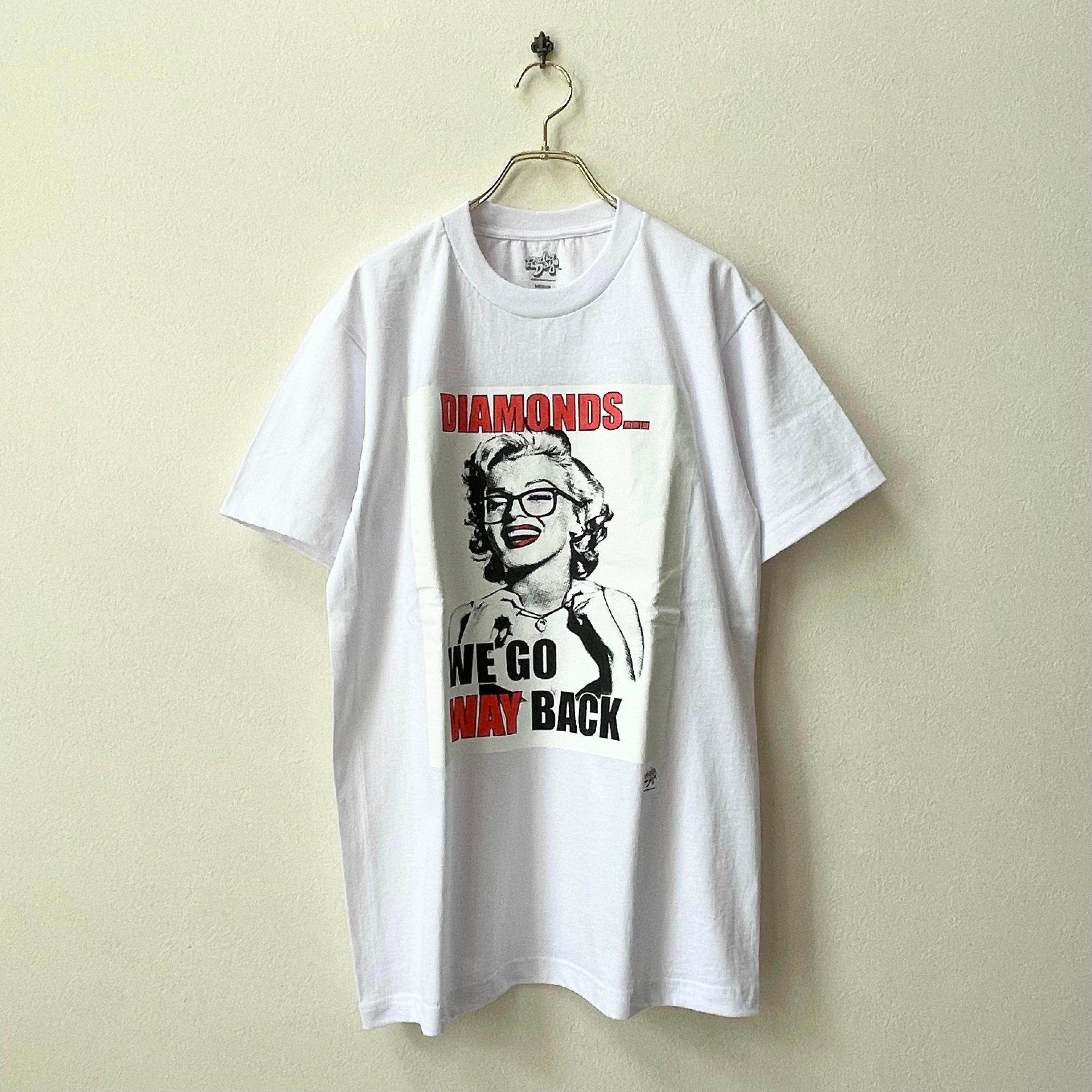 Radio Days マリリンモンロー ラバープリントTシャツ アメリカ直輸入 新品セレクト ホワイト