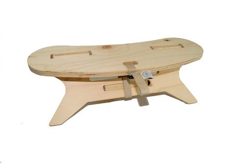 ブーメランテーブルMINI【MOUNTAIN】plywood山にも持っていける480g軽量サイズ アウトドア テーブル