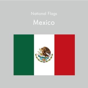 国旗ステッカー メキシコ