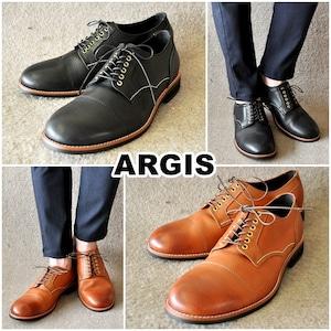 ARGIS アルジス  71140  上質レザー・レースアップシューズ  メンズ/レザー/レザーシューズ ストレートチップ 本革 日本製