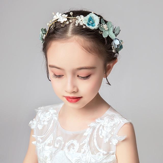 子供アクセサリー 子どもアクセサリー ヘアーアクセサリー 髪飾り ヘッドドレス キッズ 結婚式 ウェディング 入学式 入園式 発表会 入園式 卒園式 七五三 プレゼント アクセサリー お嬢さん お姫様 オリジナル 可愛い