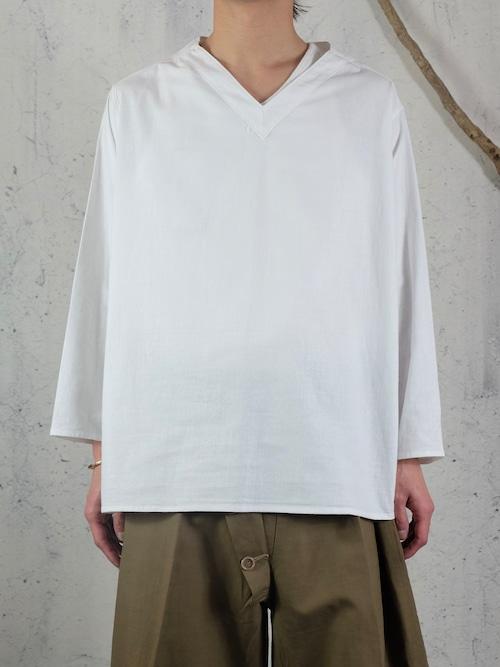 Russian summer v-neck shirt
