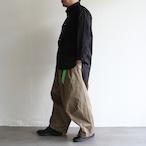H.UNIT【 mens 】broadcloth band-collar shirts