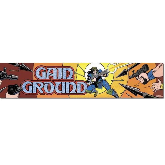 ゲイングラウンド アーケードマーキーステッカー / GAMES GLORIOUS