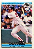 MLBカード 92DONRUSS Wade Boggs #023 RED SOX