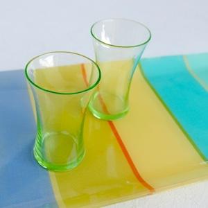 【30952】ウラングラス 明治のコップ / Glass Cup / Meiji Era