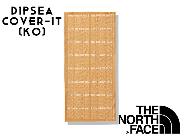 【TNF】 DIPSEA COVER-IT KO(Knock Out Orange Logo)