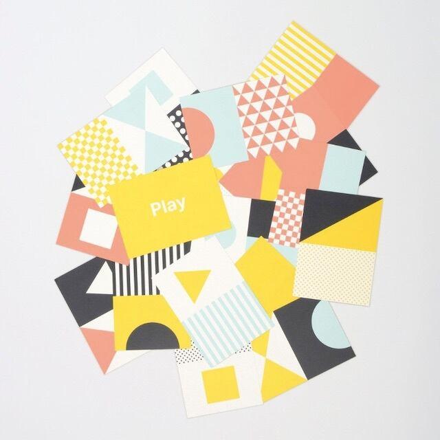 Tom Pigeon -Play Postcard Box- ポストカードセット