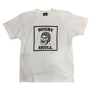 RUGBY SKULL Big Logo T-Shirt White