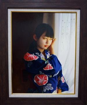 再入荷希望の方ご相談下さい。     潮田和也「藍花」