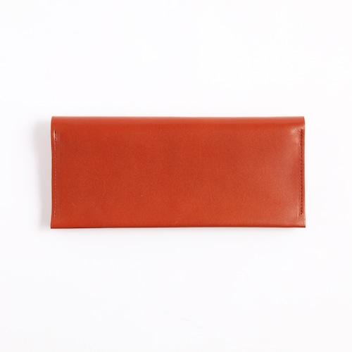 Postalco/Long Card & Coin Wallet/Brick Red