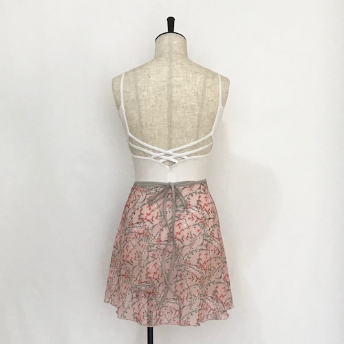 "❖""Fiorina"" Ballet Wrap Skirt - Avril・PINK [Sheer]( アブリル・ピンク [シアー])"