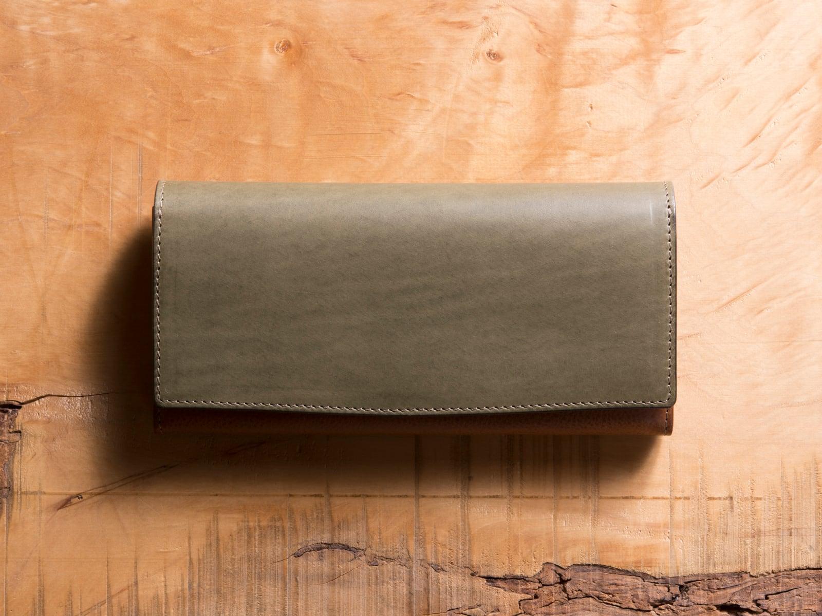 Basic Long wallet #エレファントグレー