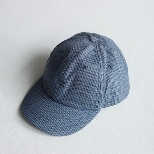 《MINGO. 2021AW》Cap / British Blue Check