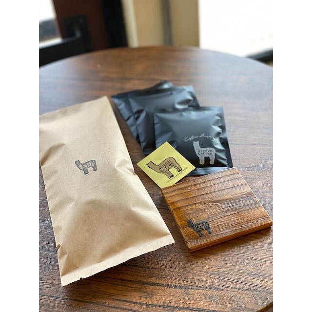 水出しコーヒー&コースタセット/クリックポスト便
