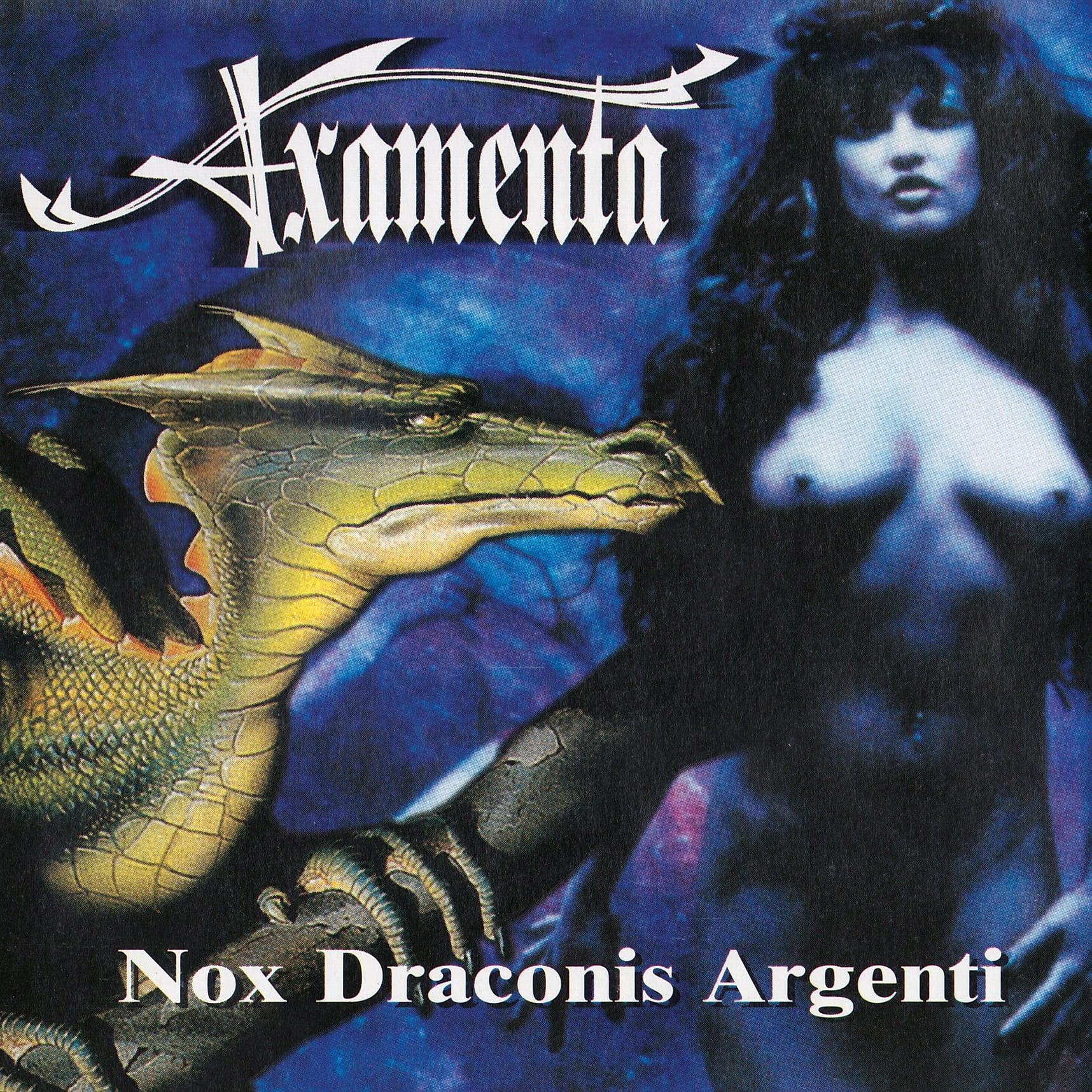 [IOSR CD 004] AXAMENTA『Nox Draconis Argenti & Demos (2枚組仕様)』