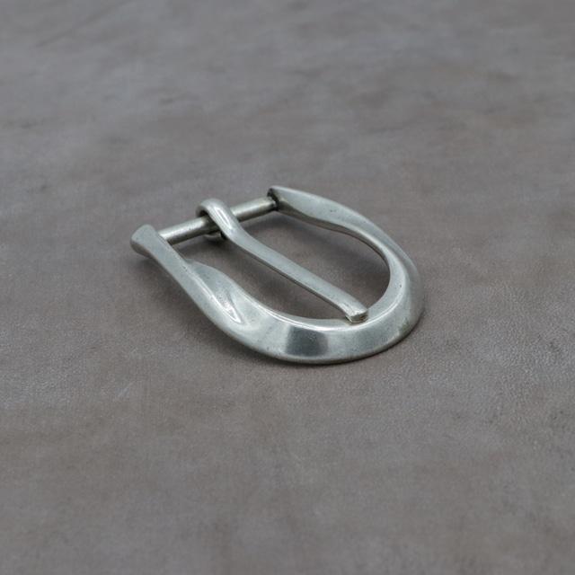 【F27812】イタリア製 バックル 33mm幅 カジュアルベルト 尾錠