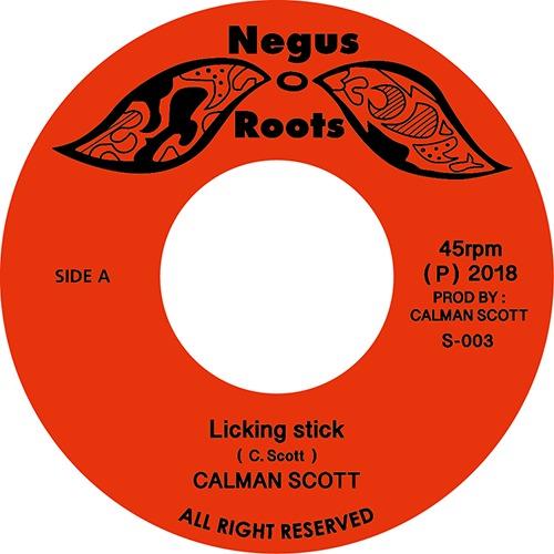 CALMAN SCOTT-Licking stick