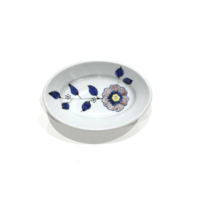 花枝紋  楕円小鉢