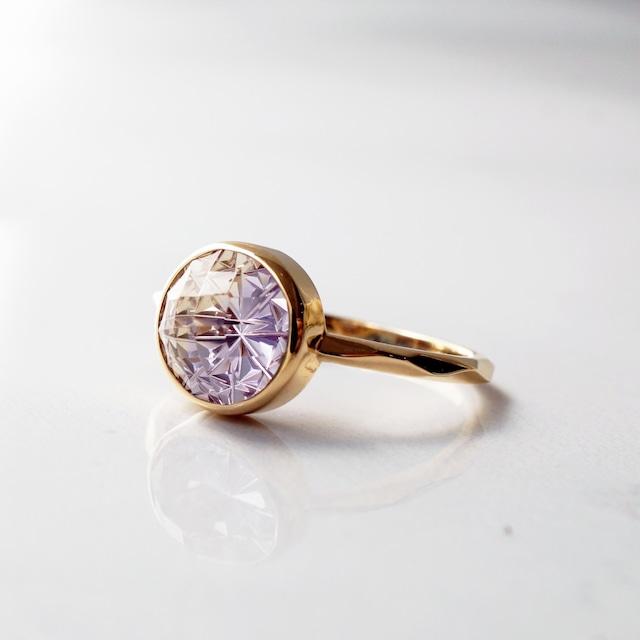 Ametrine KIRIKO Ring(Round 8 / R166-AT)