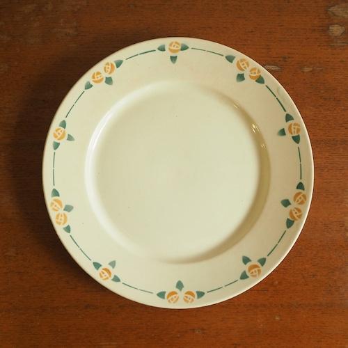 Badonviller(バドンヴィレー)のオレンジローズの平皿