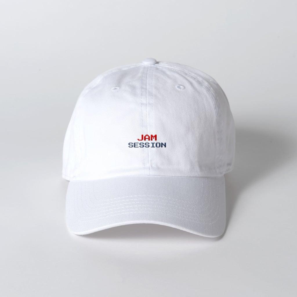 JAM SESSION CAP (WHITE)