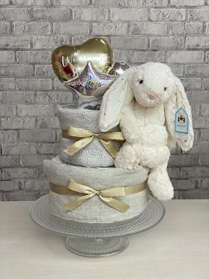 twinkle bunny キラキラベースおむつケーキ♡