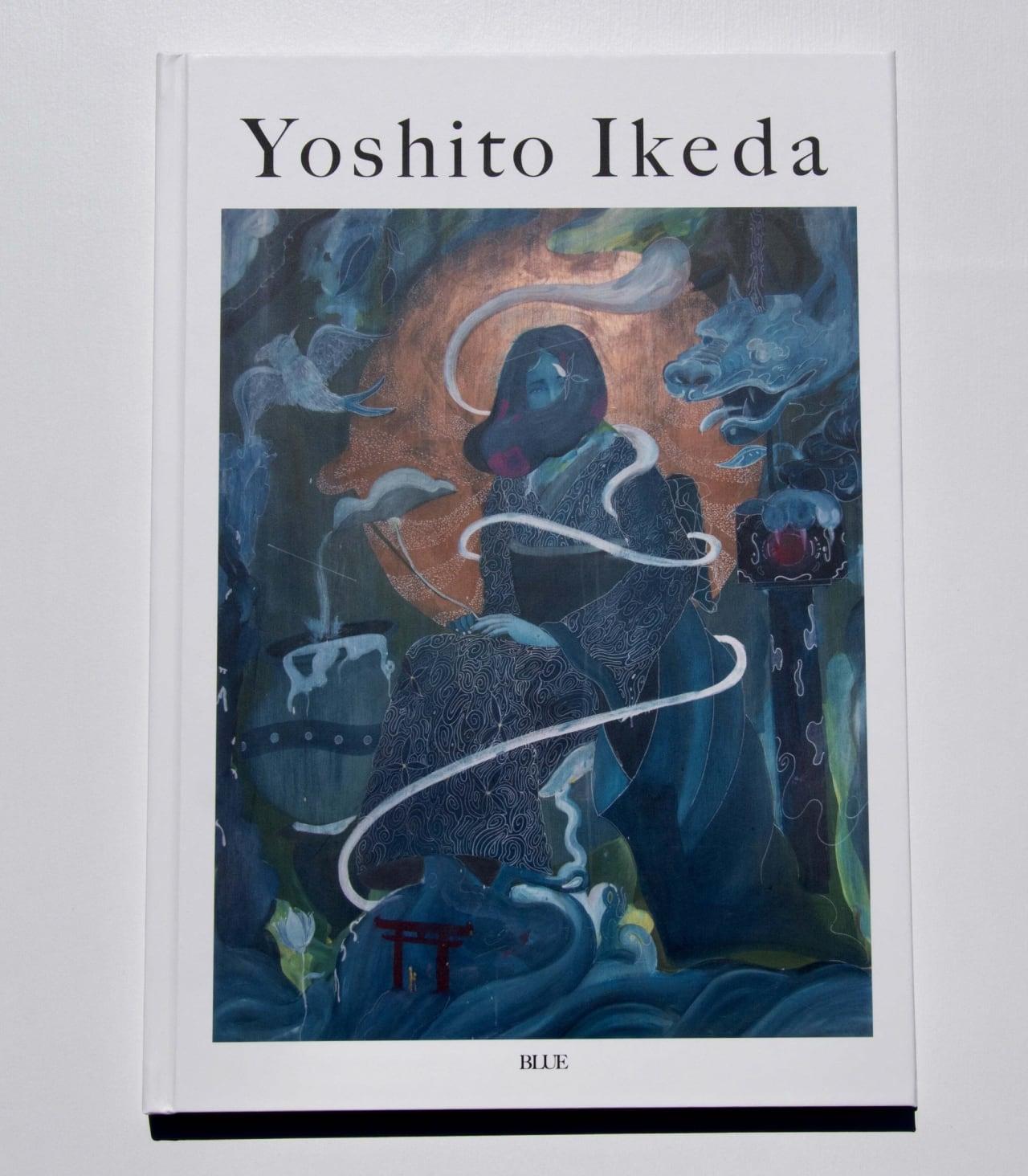 """""""  BLUE """" Yoshito Ikeda 画集"""