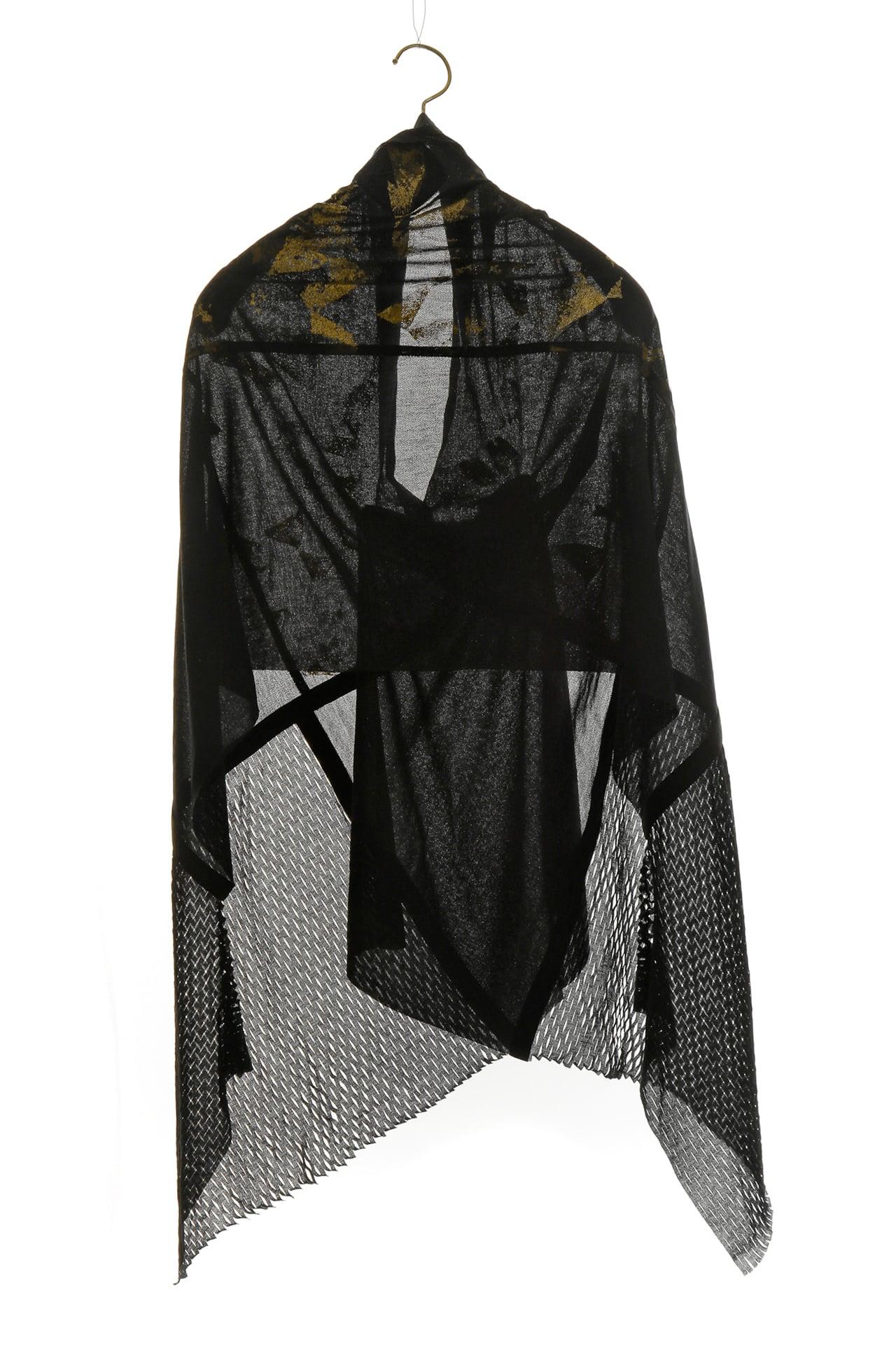 [着るアートストール]ANGEL エンジェル MIYABI ゴールド 101820【COTTONコットン】[送料/税込]