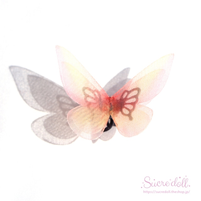 [叶] 胡蝶の夢 ヘアクリップ