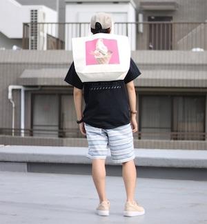 SOFT CREAM TOTE BAG(L)