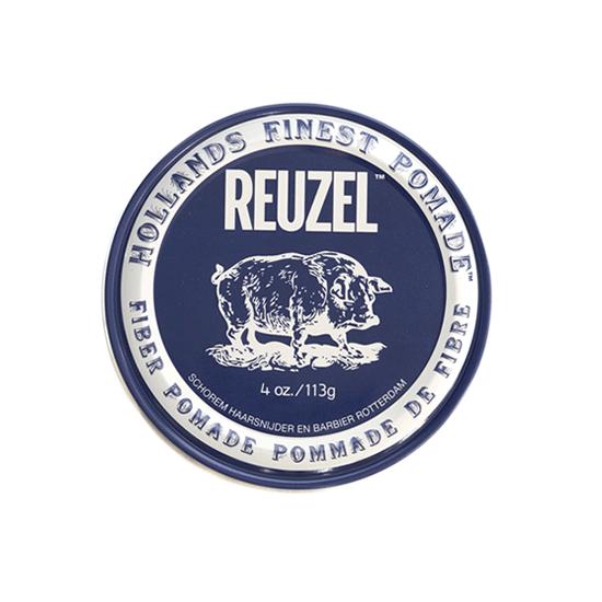Reuzel(ルーゾー)  ファイバーポマード 水性ナチュラルホールド ネイビー缶 113g
