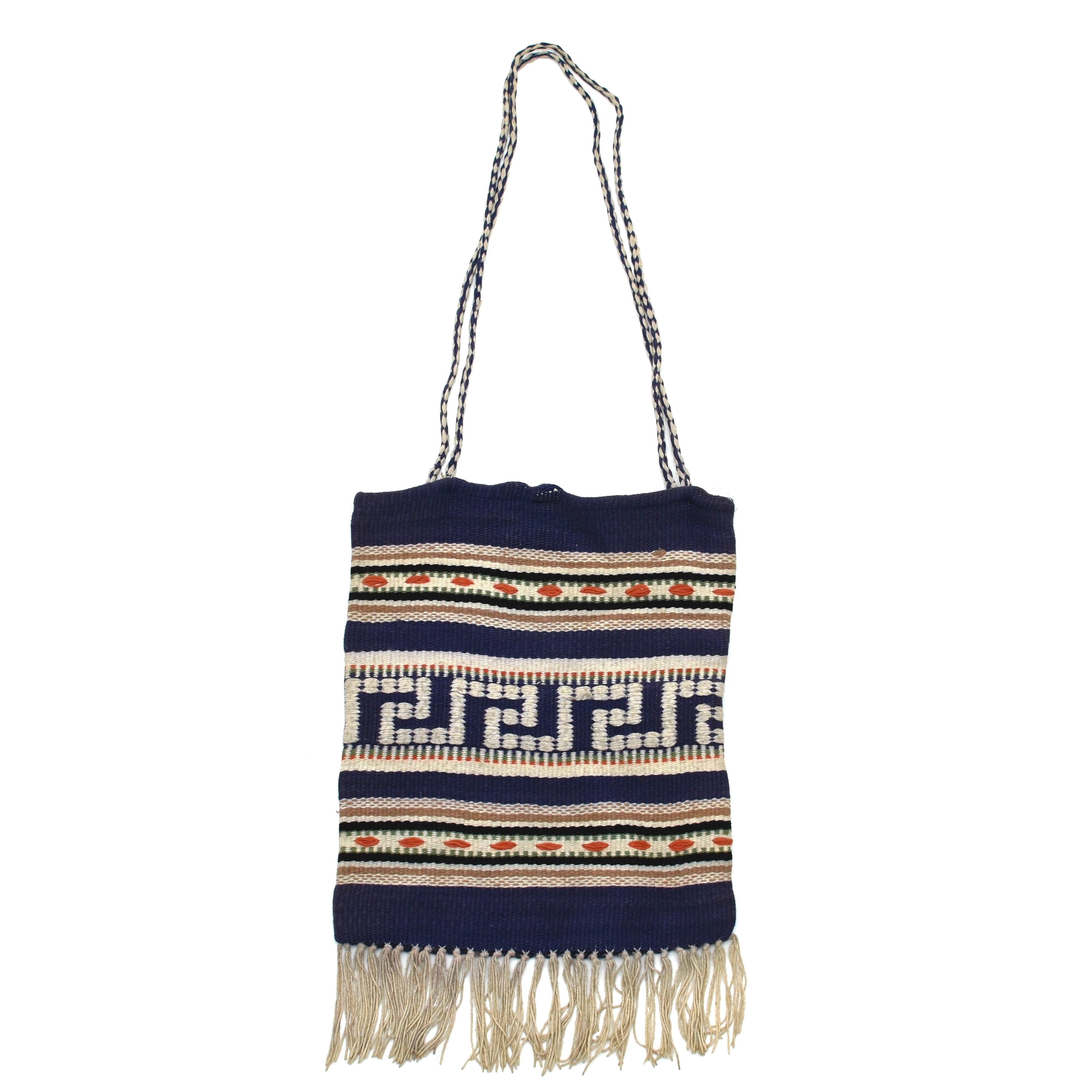 Native pattern remake rug totebag