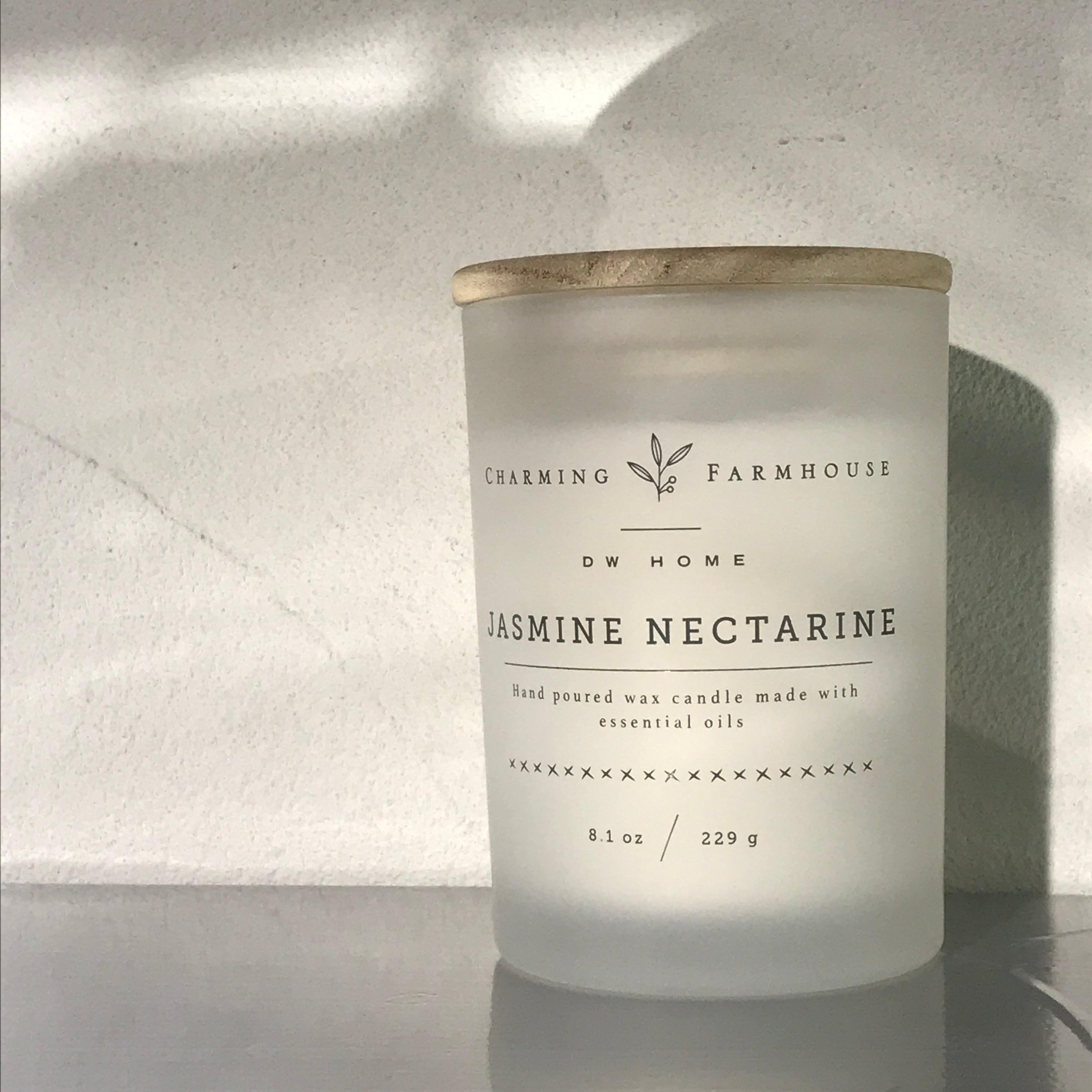 【DW Home Candles】JASMINE NECTARINE【アロマキャンドル】