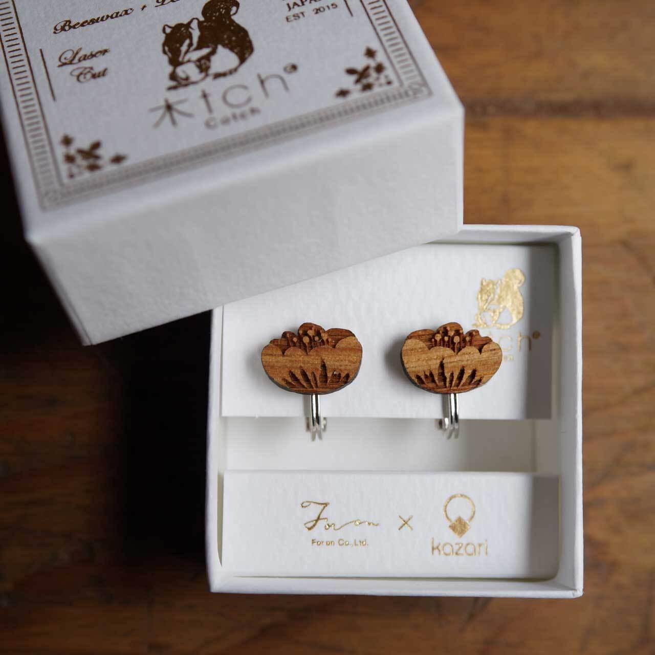 camellia / カメリア(Pierced Earring)