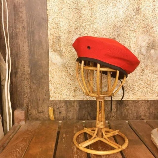 TOPANGA Accessory メッシュベレー帽 レッド
