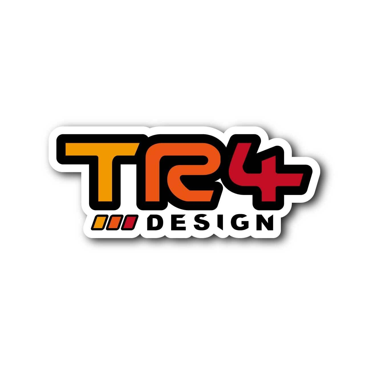 【 TR4Design 】TR4Design Sticker Decal #02